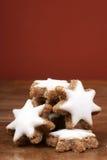 Gwiazdkowaty cynamonowy ciastko Zdjęcie Royalty Free