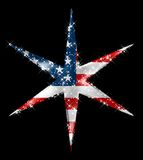 Gwiazdowa Amerykanin Kometa Zdjęcia Royalty Free