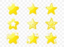 Gwiazdowa ikona wektoru ilustracja ilustracji