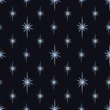 Gwiazdowa noc ilustracja wektor