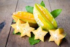 Gwiazdowa owoc Zdjęcia Stock