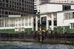 Gwiazdowa promu mola Kowloon strona Zdjęcia Royalty Free
