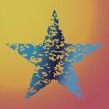 Gwiazdowa tekstura, symbolu tło, wektorowa ilustracyjna projekta elementu ikona Zdjęcia Royalty Free
