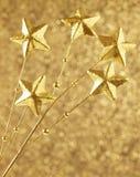 Gwiazdowe dekoracje Fotografia Royalty Free