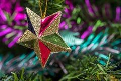Gwiazdowe dekoracje Obraz Royalty Free