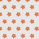 Gwiazdowego płatka śniegu kontrastowania wzoru jaskrawy tło obrazy stock