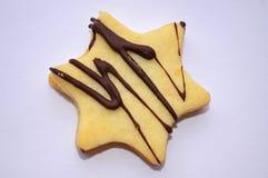 Gwiazdowi ciastka Zdjęcia Stock