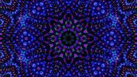 Gwiazdowy Kalejdoskopowy wzór który Przypomina koraliki Ilustracyjnych ilustracji