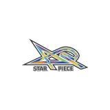 Gwiazdowy kawałka logo fotografia royalty free