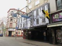 Gwiazdowy klub w Hamburg Obrazy Royalty Free