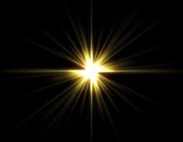 gwiazdowy kolor żółty Zdjęcia Stock