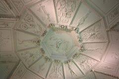 Gwiazdowy Królewski lato pałac, wnętrze (Letohradek Hvezda) Fotografia Stock