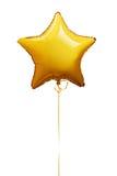 Gwiazdowy kształta balon Fotografia Royalty Free