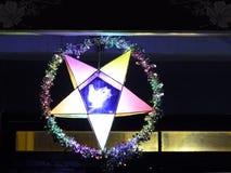 Gwiazdowy Latarniowy jaśnienie Zdjęcie Royalty Free