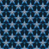 Gwiazdowy linii gwiazdy ciemnego koloru bezszwowy wzór ilustracji