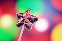 Gwiazdowy lizak Zdjęcie Royalty Free