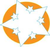 Gwiazdowy logo Obrazy Stock
