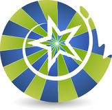 Gwiazdowy logo Zdjęcia Stock
