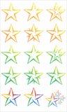 Gwiazdowy logo Obraz Royalty Free