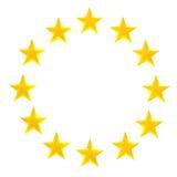 Gwiazdowy okrąg Zdjęcia Royalty Free