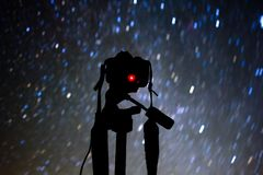 Gwiazdowy ono Wpatruje się w Sangre De Cristo Góra Kolorado zdjęcie royalty free