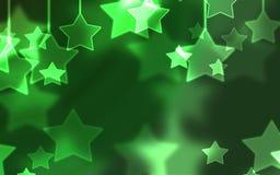 Gwiazdowy piękny wakacyjny tło Royalty Ilustracja