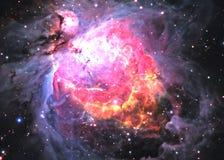 Gwiazdowy pole w głębokiej przestrzeni ilustracja wektor