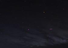 Gwiazdowy pole w głębokiej przestrzeni wiele lekcy rok dalecy Obrazy Stock