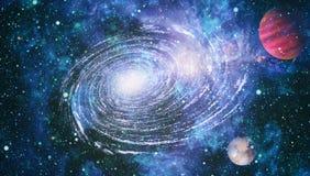 Gwiazdowy pole w głębokiej przestrzeni wiele lekcy rok daleko od ziemi Elementy ten wizerunek meblujący NASA ilustracji