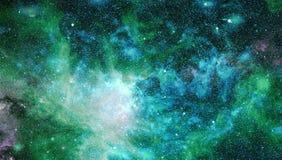 Gwiazdowy pole w głębokiej przestrzeni wiele lekcy rok daleko od ziemi Elementy ten wizerunek meblujący NASA obrazy stock
