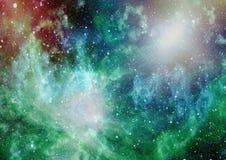 Gwiazdowy pole w głębokiej przestrzeni wiele lekcy rok daleko od ziemi Elementy ten wizerunek meblujący NASA zdjęcia royalty free