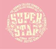 gwiazdowy super Zdjęcia Stock