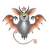 Gwiazdowy szarość nietoperz Zdjęcie Stock