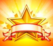 Gwiazdowy sztandar Obrazy Royalty Free