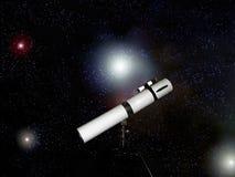 gwiazdowy teleskop Zdjęcia Stock