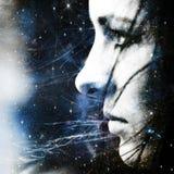 Gwiazdowy wiatr. Fotografia Royalty Free