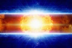 Gwiazdowy wybuch Obrazy Stock