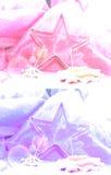 Gwiazdowy wypiekowej cyny tło Zdjęcie Royalty Free