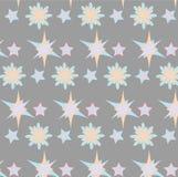 Gwiazdowy wzór Zdjęcie Royalty Free
