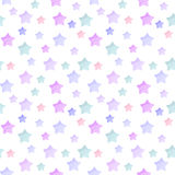Gwiazdowy wzór Obrazy Royalty Free