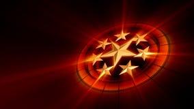 Gwiazdozbiór gwiazdy filmowa royalty ilustracja