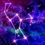 gwiazdozbiór Oriona ilustracji