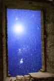 Gwiazdozbioru supernowy antyczny okno Zdjęcie Stock