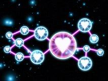 Gwiazdy 03 Zdjęcie Stock