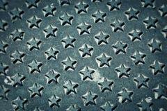 gwiazdy żelaza wzoru gwiazdy Zdjęcia Royalty Free