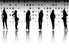 gwiazdy fasonują gwiazdy Zdjęcia Stock