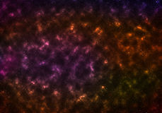 Gwiazdy galaxy w bezpłatnej przestrzeni Zdjęcia Stock