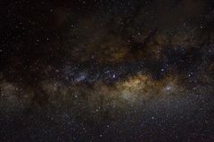 Gwiazdy i galaxy kosmosu nieba nocy wszechrzeczy czarny gwiaździsty tło błyszczący starfield fotografia stock