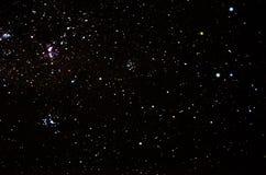 Gwiazdy i galaxy niebo obrazy royalty free