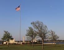 Gwiazdy i lampasy Parkują, Oklahoma miasto obrazy royalty free